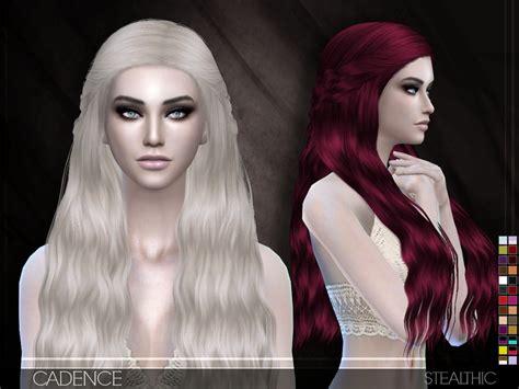 stealthic vapor female hair the sims resource stealthic cadence female hair