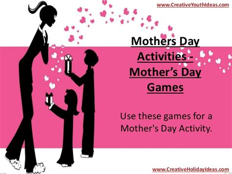 S Day Activity Mothers Day Activities Mother S Day