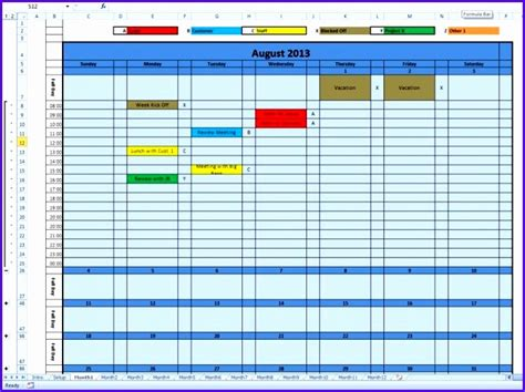 annual calendar template excel excel templates excel templates