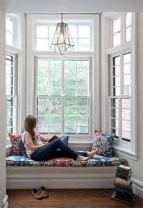 Bay Seat Window - creating an escape at home reading nooks