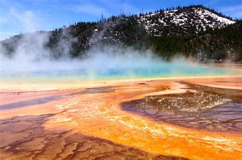 grand prismatic spring wallpaper gallery