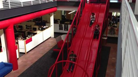 youtube offices slide youtube hq 1 8 speed youtube