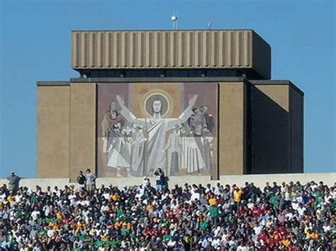 Notre Dame Part Time Mba Chicago by Touchdown Jesus