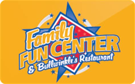 Funny Gift Cards To Buy - buy family fun center bullwinkle s restaurant gift cards raise