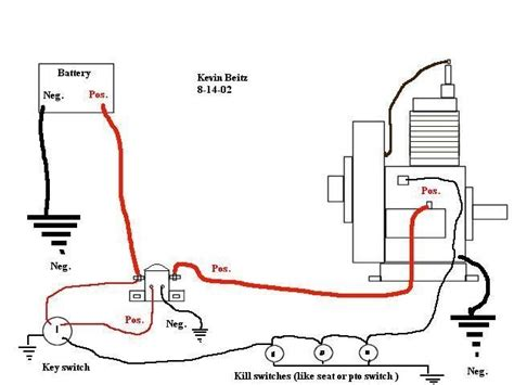 lawn mower solenoid wiring diagram 34 wiring diagram