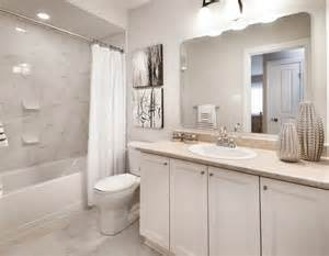 Bathroom Remodeling Ideas Before And After Model Homes Transitional Bathroom Ottawa By Tartan