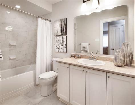 Model homes transitional bathroom ottawa by tartan homes
