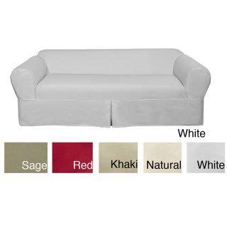 friday sofa slipcovers linden friday twill sofa slipcover set 11