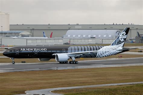 Qq D 777 Black photos air new zealand s all boeing 777 300er takes flight airlinereporter