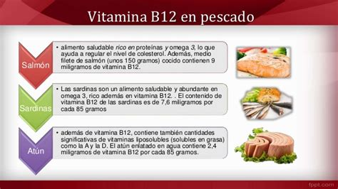 alimentos ricos en vitamina  cianocobalamina