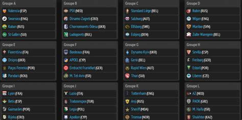 Calendrier 8eme De Finale Europa League Tirage Groupes Europa League 2013 2014 Direct 30 Ao 251 T