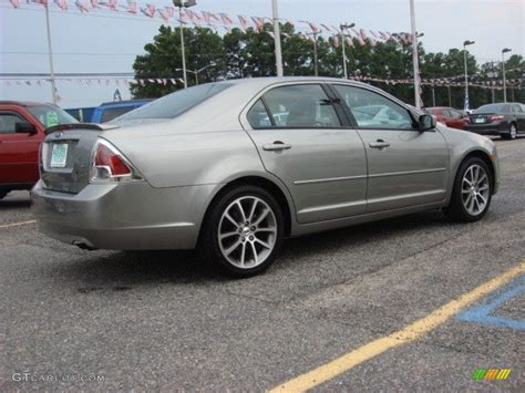 Ford Fusion Se Sport by Vapor Silver Metallic 2009 Ford Fusion Se Sport Exterior