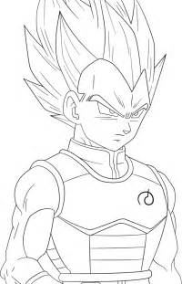 dragon ball super saiyan blue vegeta lineart righteousaj deviantart