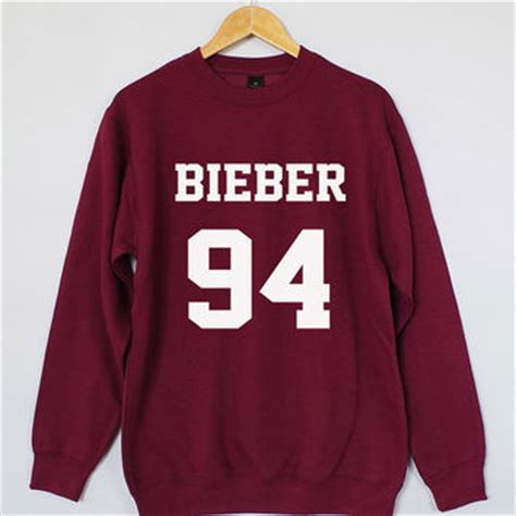 Sweater Biebie justin bieber sweatshirt justin bieber from domugo on etsy