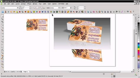 business card mockup template for coral psp business card mockup in coreldraw