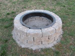 Lowes Firepit Kit Lowes Pit Kit Weekend Project 1 Decorating Ideas