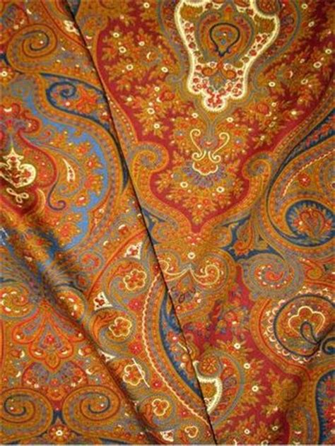 Lara Spice Paisley 100 Cotton by 1000 Images About Ralph Home Fabric On