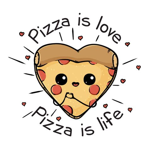 Pizza Lover pizza is pizza is design par beka wistitee