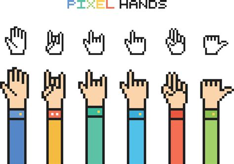 House Design Game For Free Free Vector Pixel Hands Download Free Vector Art Stock