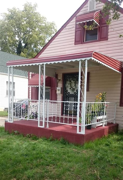 awnings columbus ohio custom awning service and builders inc columbus oh