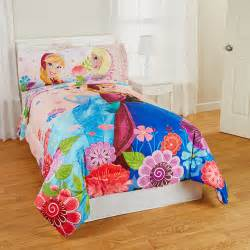 Frozen Twin Comforter Frozen Floral Breeze Twin Full Reversible Bedding