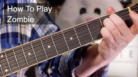 zombie guitar tutorial easy zombie the cranberries acoustic guitar lesson youtube