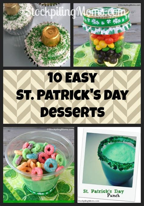 easy st s day 10 easy st s day desserts