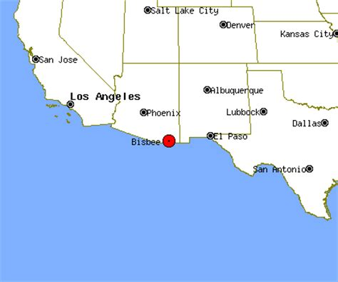 bisbee az map bisbee arizona map