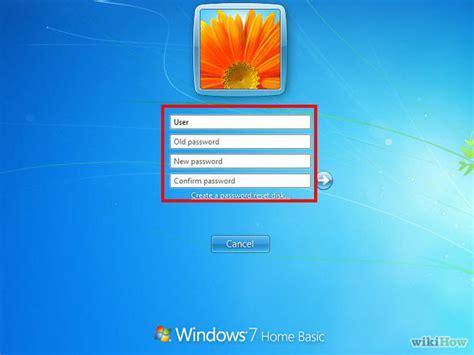 reset windows password before logon how to change your password college of health sciences