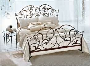 Wrought Iron Bedroom Furniture Wrought Iron Bed Furniture Designs An Interior Design