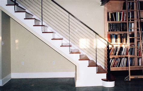 removable banister removable basement stair railing ideas stair railing ideas contemporary invisibleinkradio