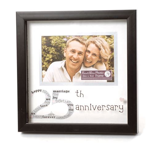 Wedding Anniversary Frames by 25th Wedding Anniversary Photo Frame 10509 Olive