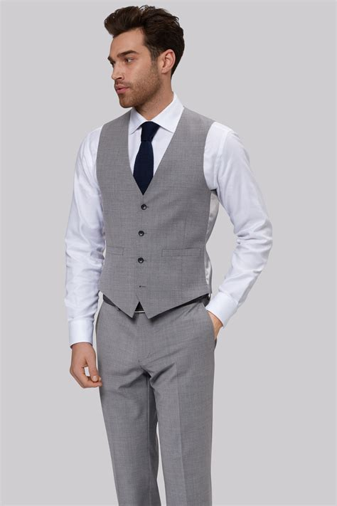 light gray fitted suits moss 1851 performance tailored fit light grey jacket