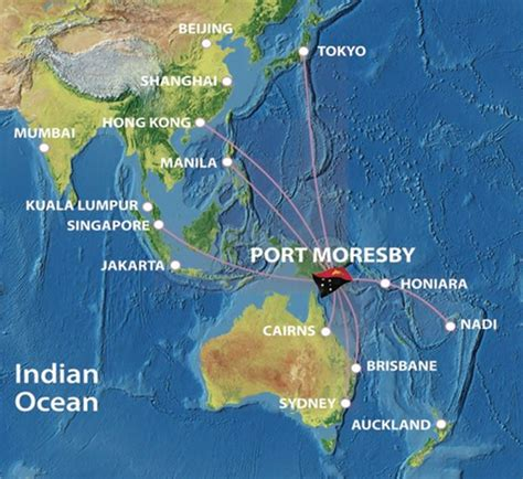 port moresby map air freight opportunities in papua new guinea attract