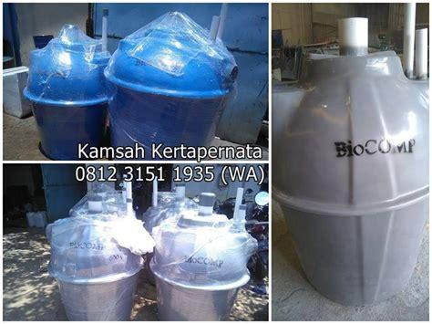 Bio Bandung jual bio septic tank bandung fiberglass termurah