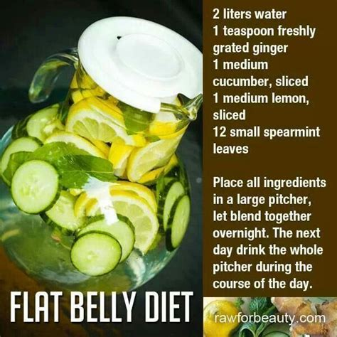 Detox Water Recipes For Belly by Belly Water Images Recipes