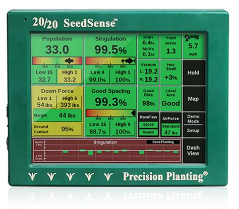 20 20 Planter Monitor by Clifford Precision Yield Monitoring