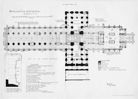 cathedral floor plan winchester cathedral floor plan english medieval
