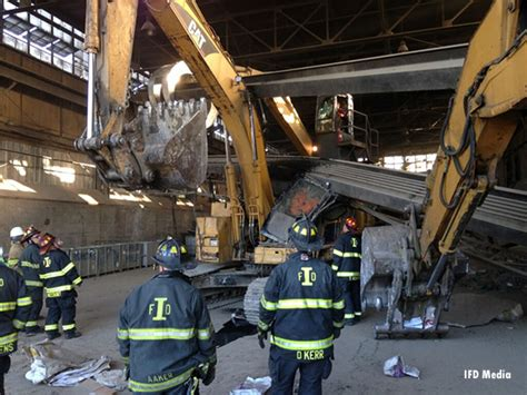 rescue indianapolis technical rescue indianapolis firefighters extricate worker from excavator