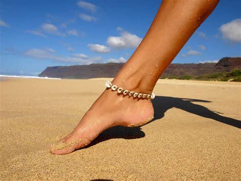 puka kauai kauai puka shell anklet tuff jewelry