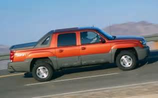 2002 2013 chevrolet avalanche timeline truck trend