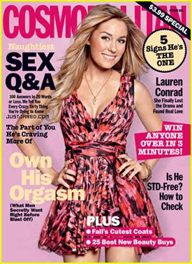 Conrad Lands The Cover Of Cosmo And Becomes The Spokesperson For Cosmetics by Conrad Covers Cosmopolitan October 2010