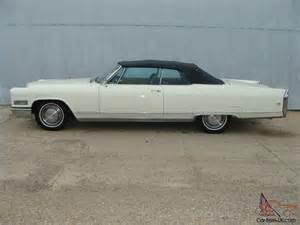 1966 Cadillac Eldorado 1966 Cadillac Eldorado Convertible Factory Seats