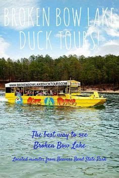 duck boat tours at beavers bend at beavers bend land water park located inside of