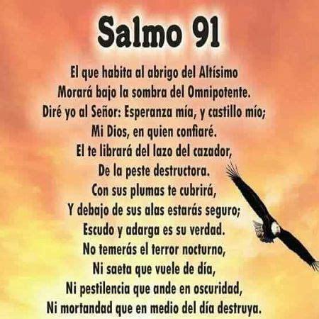 salmo 91 en espanol salmo 91 dios pinterest divine mercy and namaste