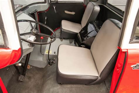 jeep forward control interior 1958 willys jeep fc 150 4x4 pickup fc forward control