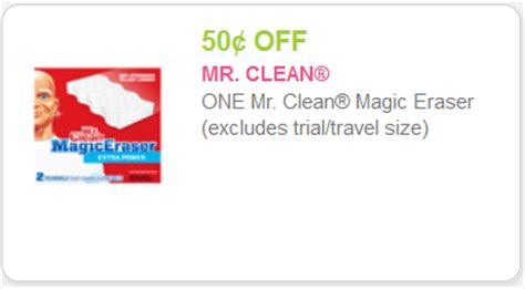 magic house coupons mr clean magic erasers as low as 0 79 with kroger mega sale kroger krazy