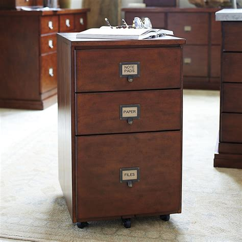 original home office castered 3 drawer file cabinet with