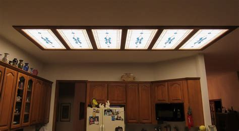 decorative fluorescent light panels kitchen fluorescent