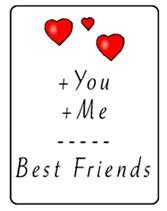 best friends greeting card everyday friend printable free best friends printable greeting cards